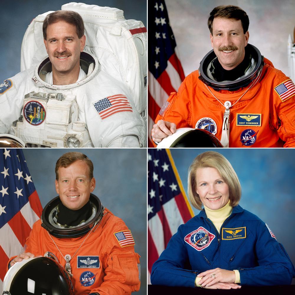Astronautas ao Hall da Fama 2015