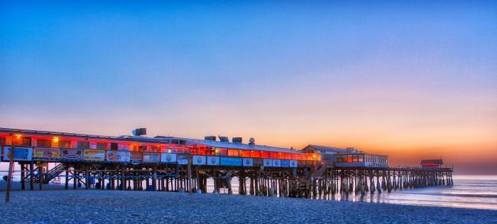 Cocoa-Beach-Pier-Predawn