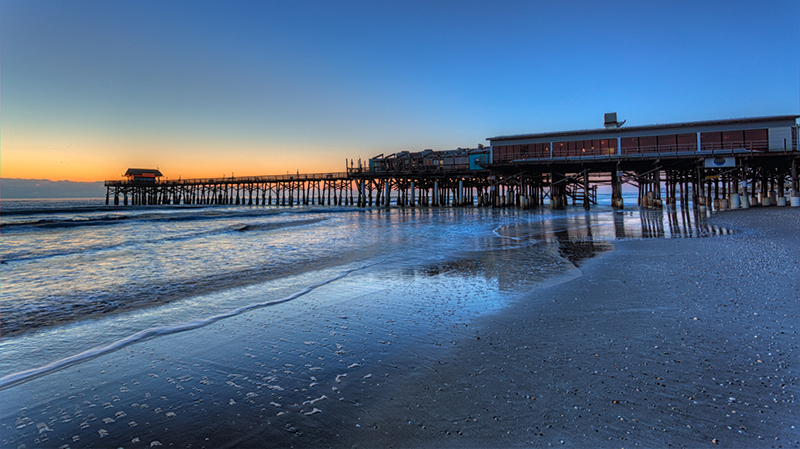 Cocoa-Beach-Pier-Dawn